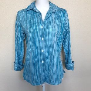 Foxcroft Fitted Button Down